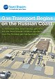 Gas Transport Begins on the Russian Coast