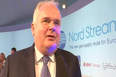 Interview: Matthias Warnig at Ceremony in Russia to Mark the Start to Construction of the Nord Stream Pipeline