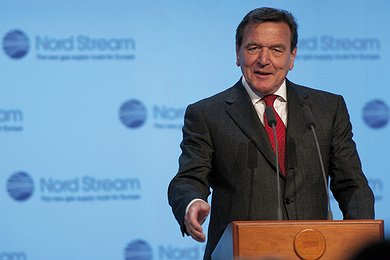 Gerhard Schröder's Speech in Portovaya Bay 02