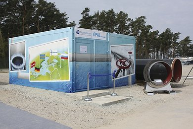 Pipeline Info Point in Lubmin