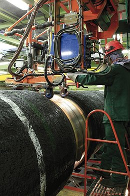 Castoro Sei: Inspection of the Welded Pipes