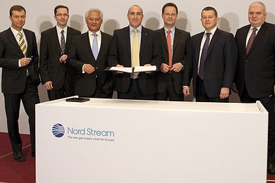 Nord Stream Completes Phase II Financing