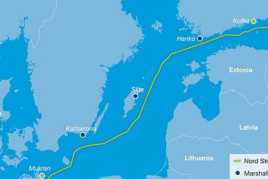 Nord Stream Logistic Sites (with legend)