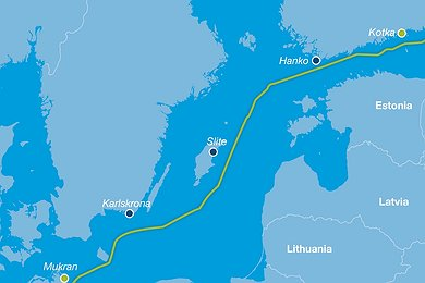 Nord Stream Logistic Sites (without legend)