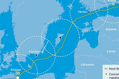 Nord Stream Logistics Concept (with legend)
