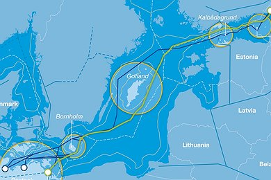 Nord Stream Route Optimization (without legend)