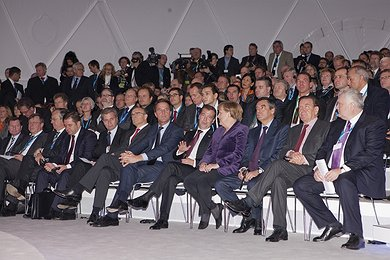 Heads of State and Government at the Ceremony