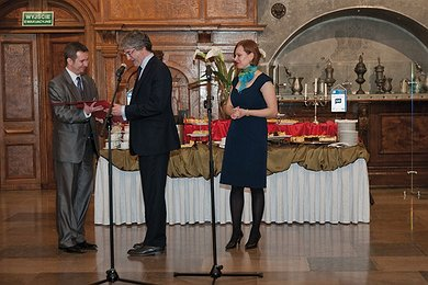 "Nord Stream Receives ""Baltic Trend-Setters Certificate"" in Gdańsk, Poland"