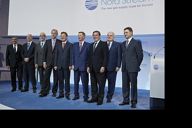Nord Stream Consortium Celebrates Start of Line 2